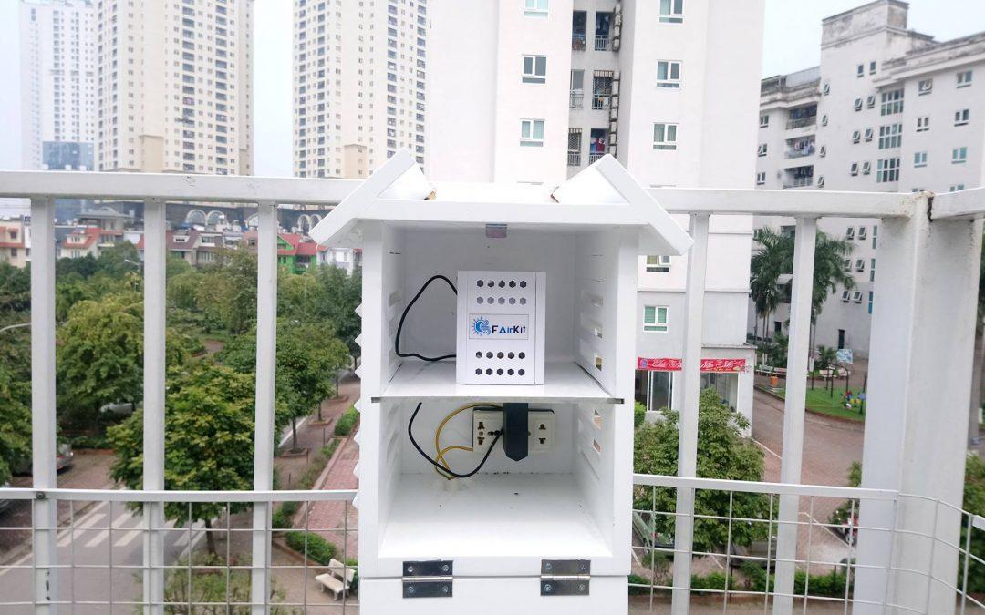 Lắp đặt thiết bị quan trắc ô nhiễm không khí