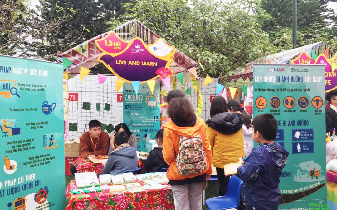 Sự kiện Tet Fair 2020 tại trường liên cấp quốc tế Anh Việt Hà Nội (BVIS)