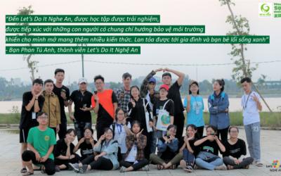 [Sáng kiến đã thành công] Let's do it Nghe An và hành trình giúp Nghệ An bớt rác