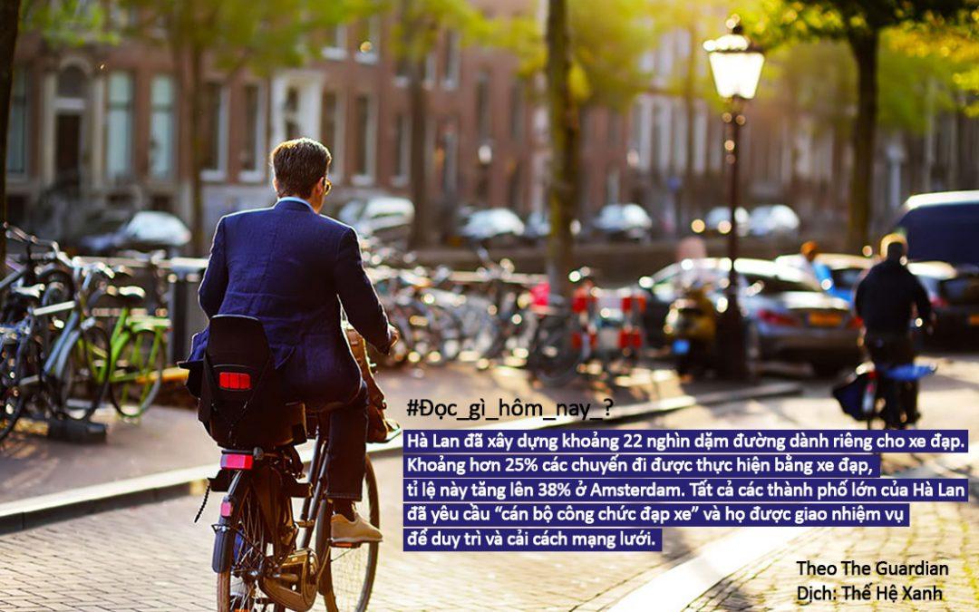 Amsterdam đã trở thành thủ phủ của xe đạp như thế nào?