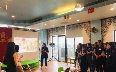 Tập huấn Không khí sạch – Trường học xanh tại ERASCHOOL