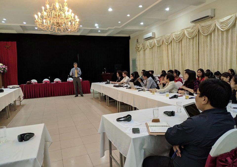 """Hội thảo Kỹ thuật """"Chỉ số chất lượng không khí và các vấn đề liên quan tại Việt Nam"""""""