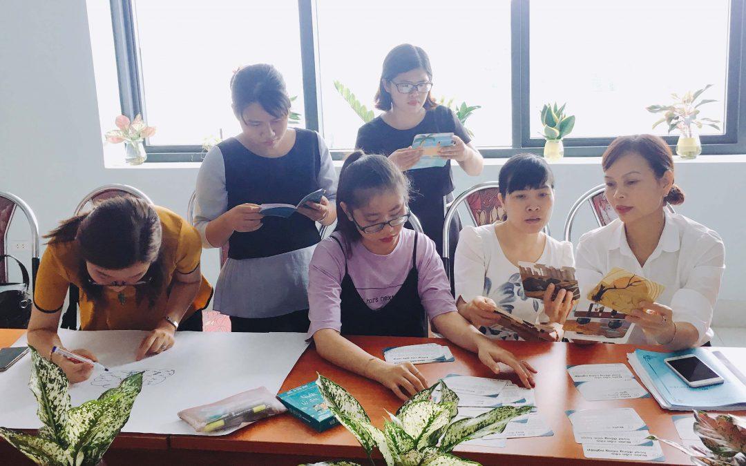 Tập huấn giáo viên tại trường THCS Đức Thắng