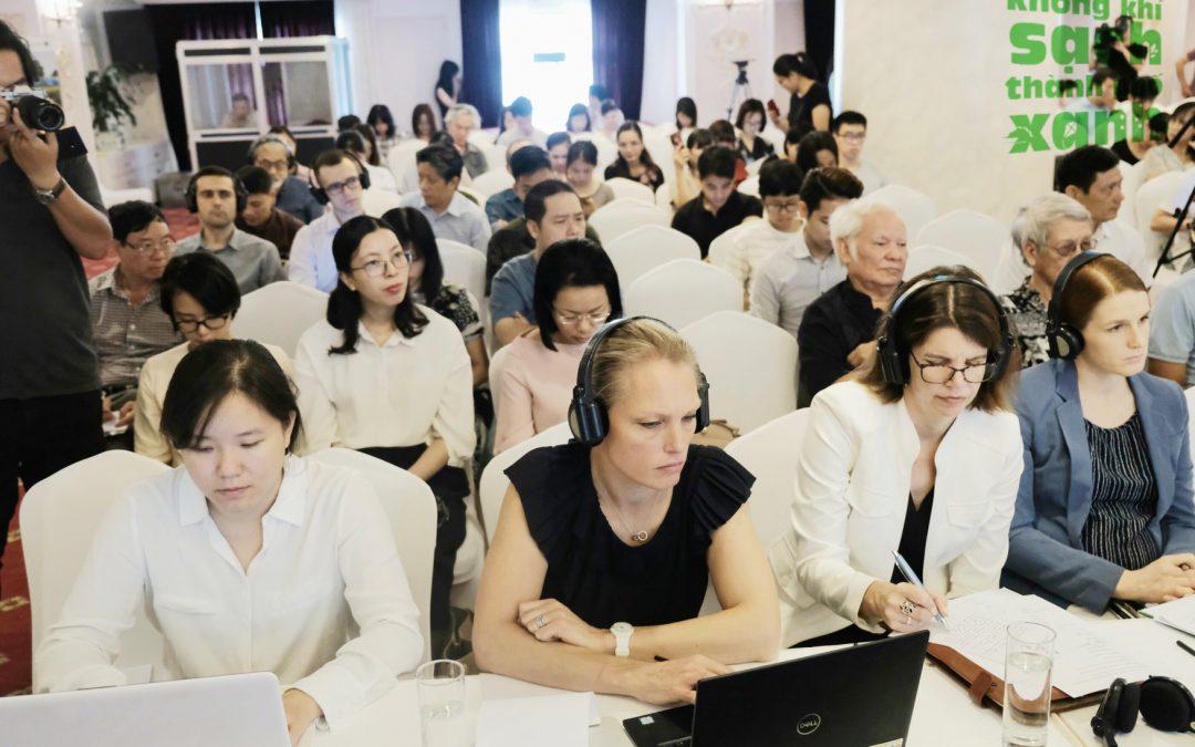 """Hội thảo """"Hiểu đúng về ô nhiễm không khí – Hành động của chính quyền và người dân"""""""
