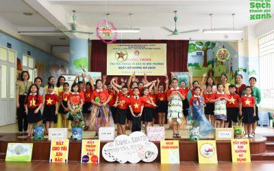 Ngày hội không khí sạch  Trường Tiểu học Chương Dương chung tay vì bầu không khí sạch