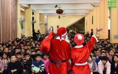 Chương trình Noel 'Truyền thông Ô nhiễm không khí và bảo vệ sức khỏe' tại trường Tiểu học Trần Quốc Toản