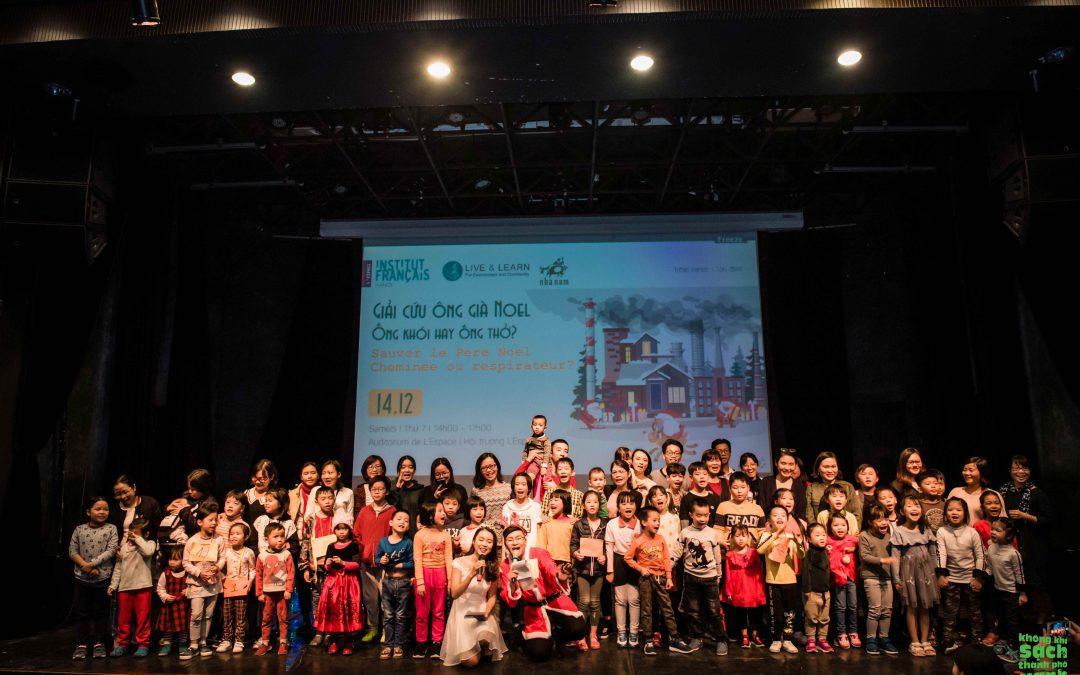 Cuộc thi 'Giải cứu Ông già Noel'