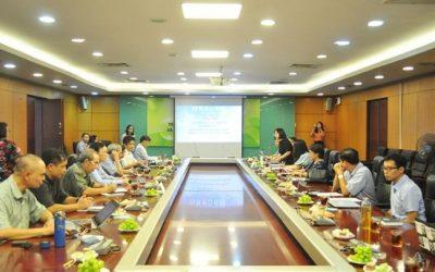 """Hội thảo """"Cải thiện chất lượng không khí – Cập nhật nghiên cứu và giải pháp tại Việt Nam"""""""