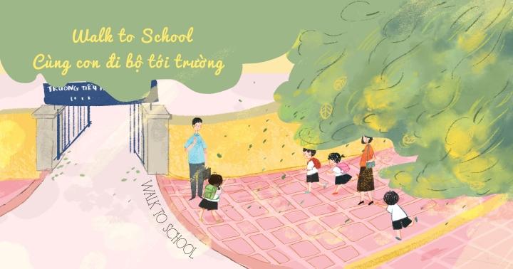 Tuyển họa sĩ vẽ mỹ thuật Đường đi bộ đến trường