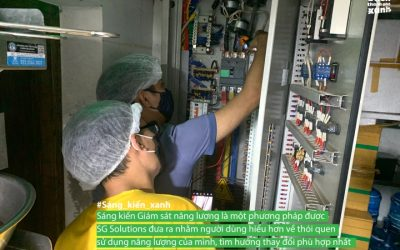 [Sáng kiến xanh] SG Solutions và giải pháp giám sát năng lượng
