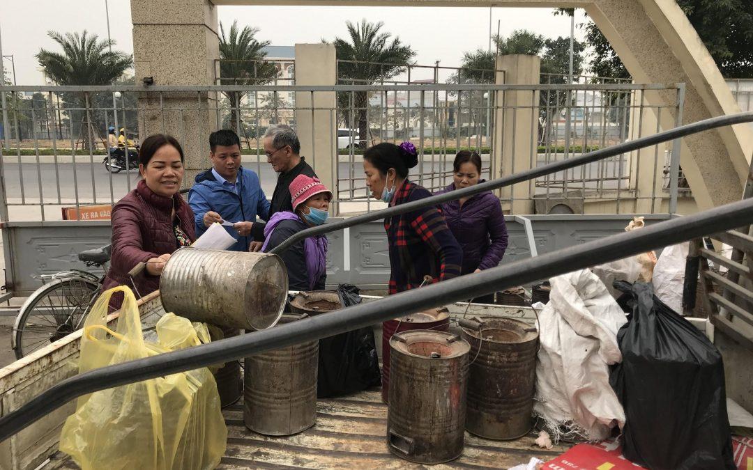 Toàn thành phố Hà Nội giảm 79% số bếp than tổ ong trong sinh hoạt và kinh doanh dịch vụ so với năm 2019