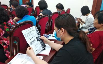 """Hội phụ nữ quận Bắc Từ Liêm phát động cuộc thi """"Bếp Xanh Nhà Sạchh"""""""