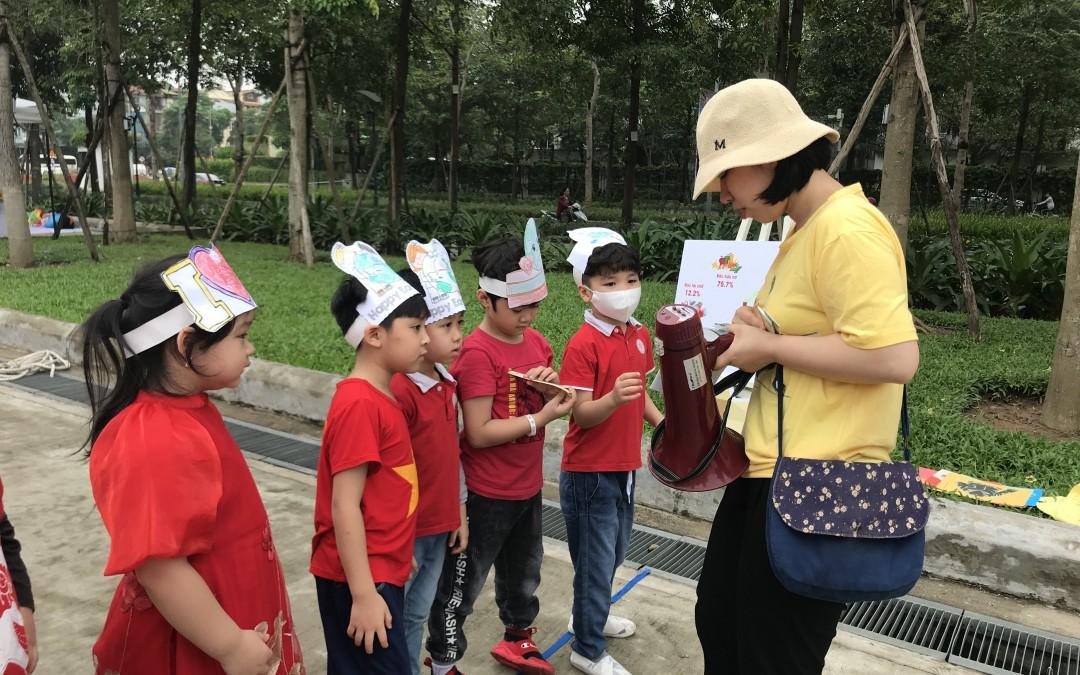 Ngày Tái chế xanh tại Park City Hà Đông