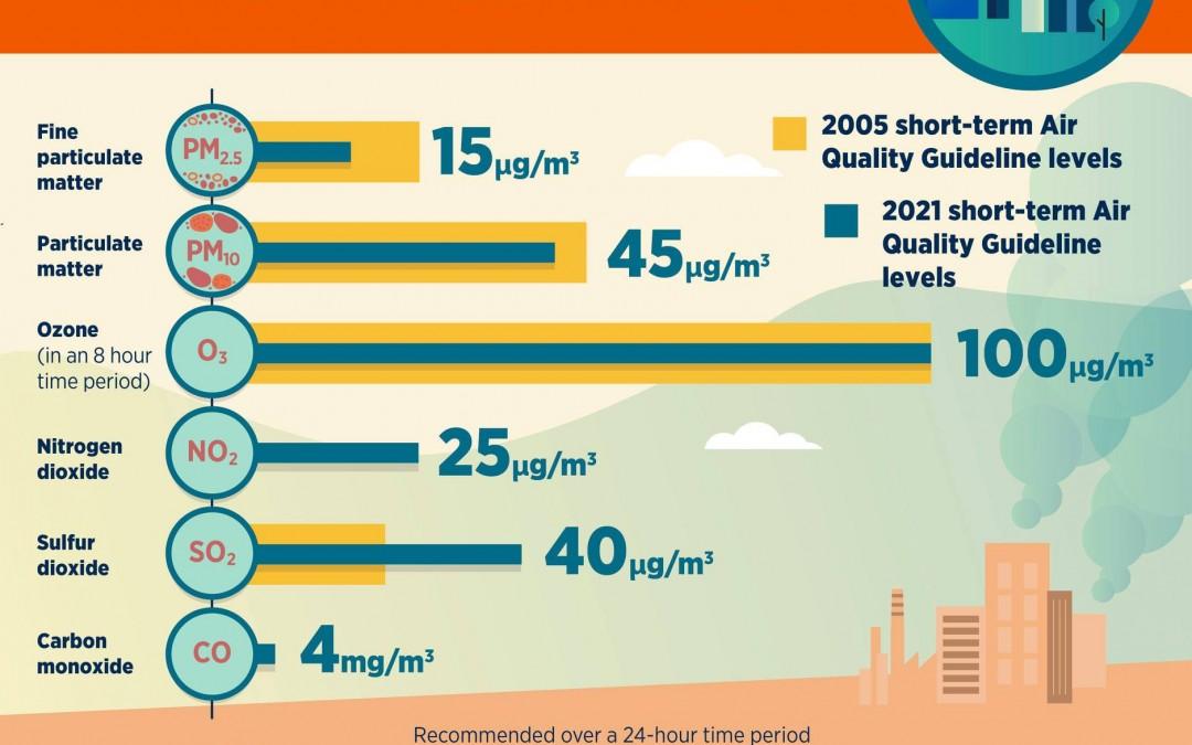 Hướng dẫn toàn cầu của Tổ chức y tế thế giới (WHO) về chất lượng không khí