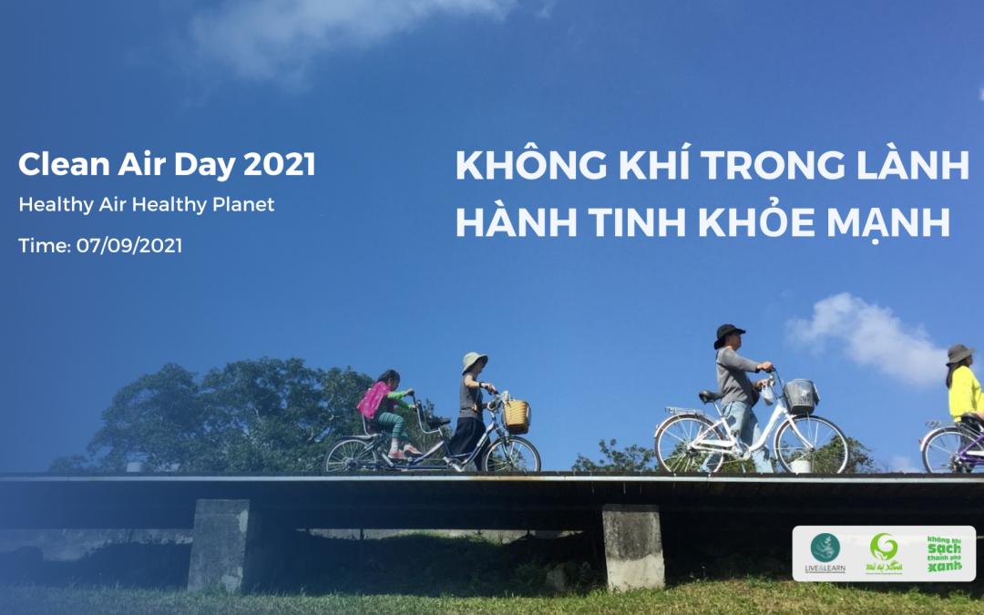 Ngày Quốc tế Không khí sạch vì bầu trời xanh 2021